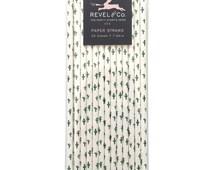 Cactus Paper Straws - PS1108