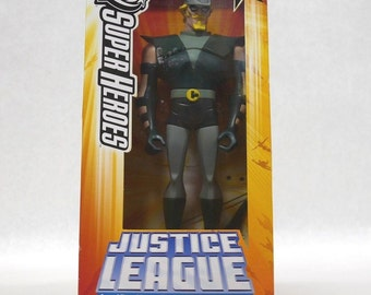 "Mattel DC Justice League Unlimited ""Green Arrow"" 10"" Figurine"