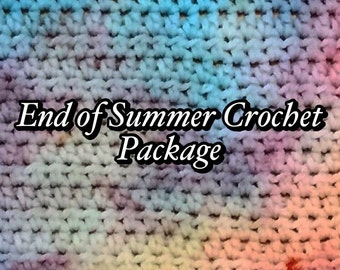 End of Summer Crochet Package