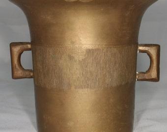 Brass Antique Mortar only, no Pestle.
