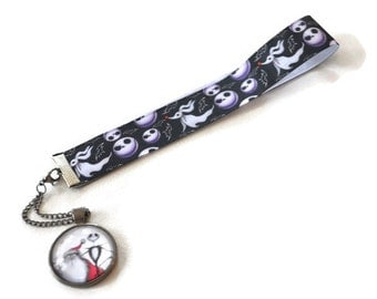 Bookmark Jack Skellington Nightmare Before Christmas Ribbon