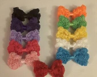 Rosette bows