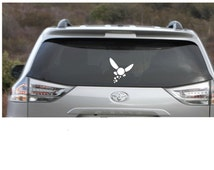 FREE SHIPPING in US - Navi Zelda Sticker - Triforce -  Gamer Decals - Life Hearts - Bumper Sticker/ Car Decal - Zelda - Nintendo