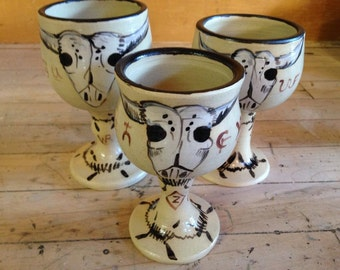 Wine Goblets many different designs