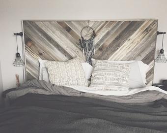 reclaimed wood furniture etsy. oversized reclaimed wood headboard furniture etsy e
