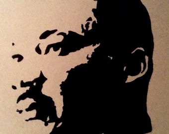 Martin Luther King Jr. Sharpie Portrait