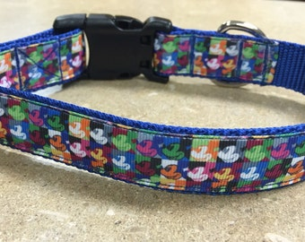 Pop Art Mickey Mouse 1 inch Collar