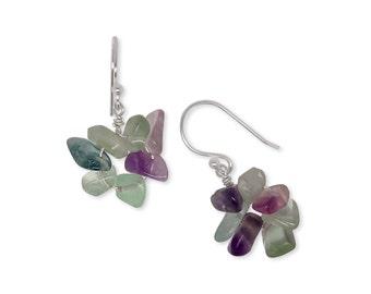 Earrings - handmade - 925 Silver - gemstones