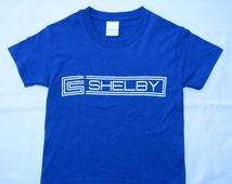 Kids Carroll Shelby blue youth child t-shirt
