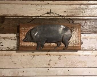 Pig Wall Decor