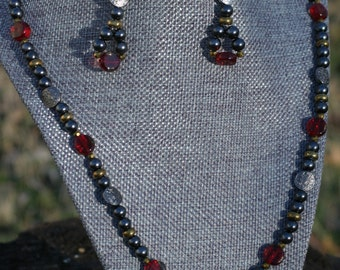 Pirate Necklace and Earring Set