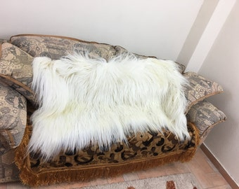 Goat  fur blanket/throw/luxury/mexa