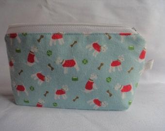 Purse // makeup bag// zipper pouch // Cath Kidston print
