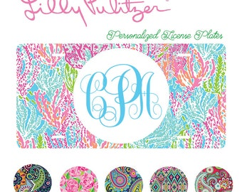 Lilly Pulitzer License Plates