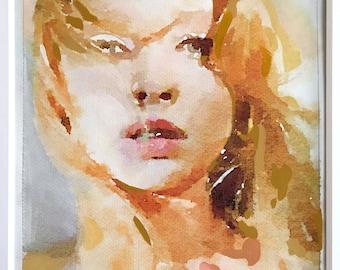 """Custom Portrait Painting """"Medium"""""""