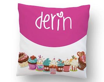 NEW!!! / Name Pillow / Baby Pillow / Children Pillow / Pink Pillow
