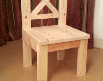 Rustic Straight Back Chairs*Naked* , Local Delivery or Pickup Only