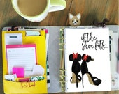 Minnie Mouse Planner Dashboards - laminated on 5mil by Stylish Planner