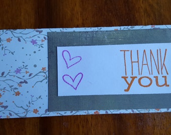 "4x9 ""Thank You"" Card"