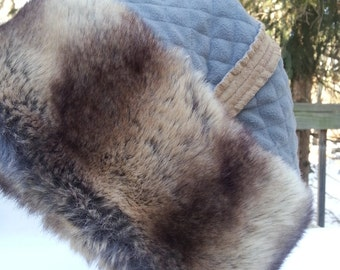 Faux Fur Hat Made in Canada