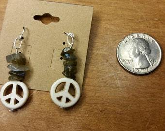 Peaceful Labradorite Earrings