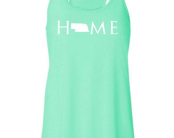 Nebraska home tank top, Your state tank, Nebraska shirt, Nebraska tank top, Nebraska home, Nebraska home T