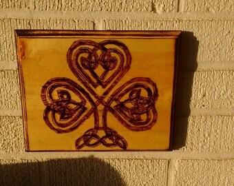 Celtic wall plaque.