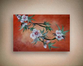 "Acrylic painting on canvas - ""Celebration of Spring"" - Original art By Amit Yalin"
