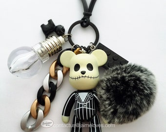 Popobe Jack Skellington Bag Charm