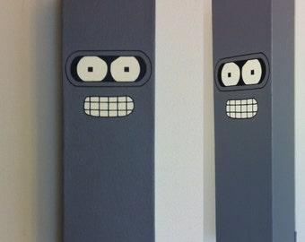 Bender (Futurama) Canvas Painting