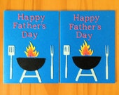 Father's Day Card | Grill | Greeting Card | For Dad | Father's Day | Barbecue | Cook Out | Dad's Grill