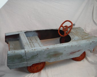 1950's Murray Fire Truck Pedal Car- Antique, Vintage, Working Condition-Usable-Easily Restorable