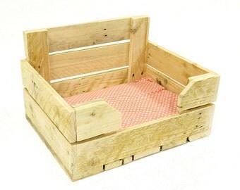 Pallet wood Cat Bed