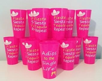 Bachelorette Party Cups. Mexico Bachelorette Party. Vegas Bachelorette Party. Bachelorette Stadium Cups