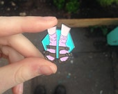 Socks and Sandals Enamel Pin