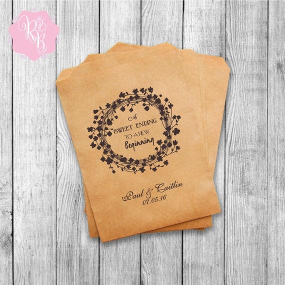 Wedding Favor Bags For Cookies : Wedding Favor Bags Wedding Favors Personalized Cookie Buffet Bags ...