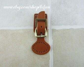 Leather Bag Purse Locks