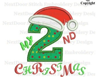 2nd christmas   Etsy