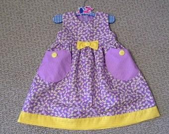 Puperita, Baby Clothes, Girls dresses, Purple Dresses, Easter Dress