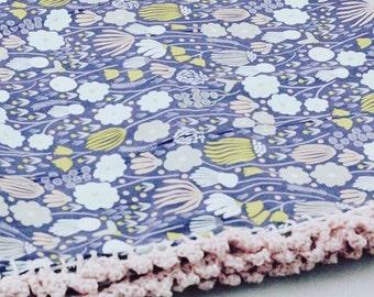 Rich Meadow Receiving Blanket