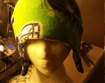 Handmade fleece hats