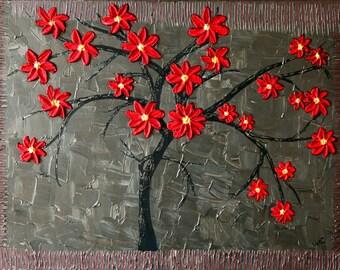The blossom tree 50cm x 70cm