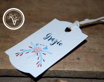 Tag marriage-card wedding favors