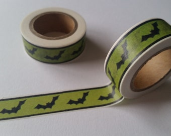 Bat Washi Tape