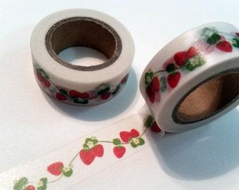 Strawberry vine Washi Tape