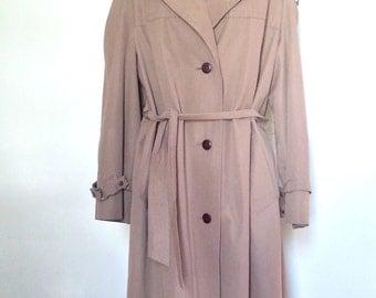 Vintage trench coat ,vintage ETIENN AIGNER,women rain coat ,trench coat