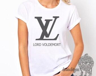 Lord Voldemort printed on Women tee