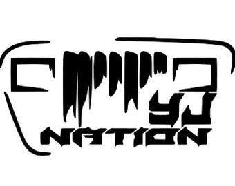 YJ Nation Decal