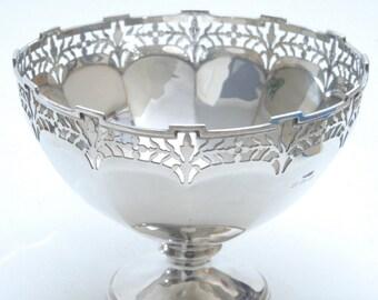 Silver Pedestal Bowl 1913
