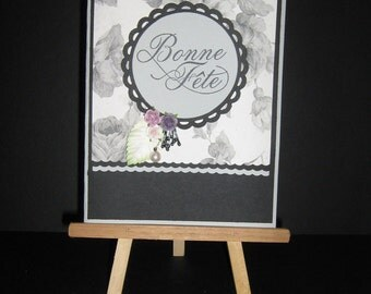 boone Day greeting card handmade